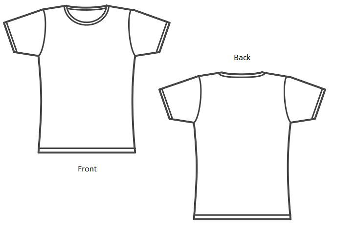 how to make a shirt template - Juve.cenitdelacabrera.co