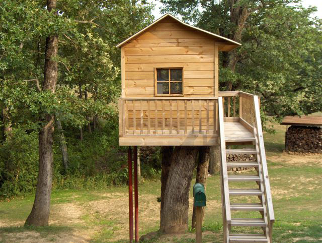 15 Building A Tree House Designs Images