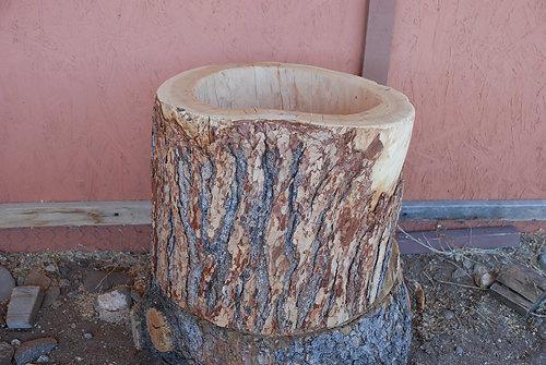 Tree Stump Photography Prop
