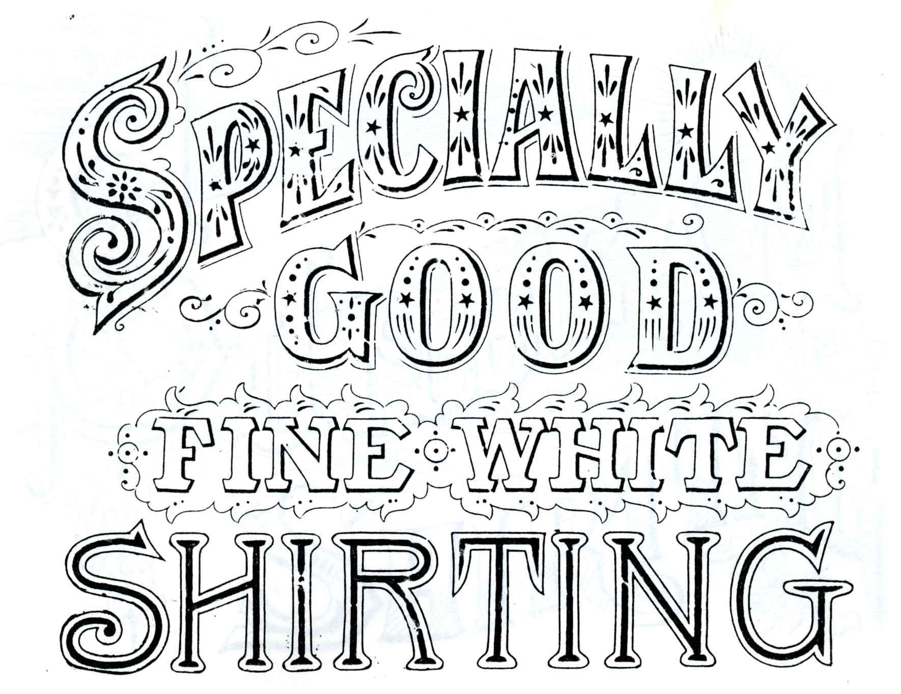 top antique sign fonts - photo #13
