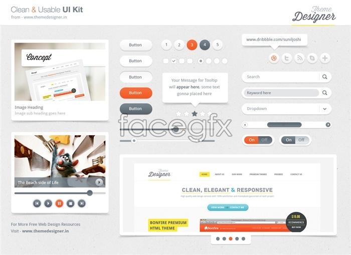 UI Web Design Search