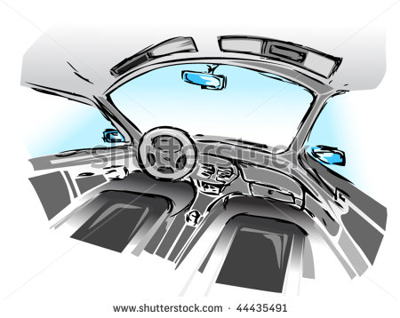 13 Car Interior Vector Images