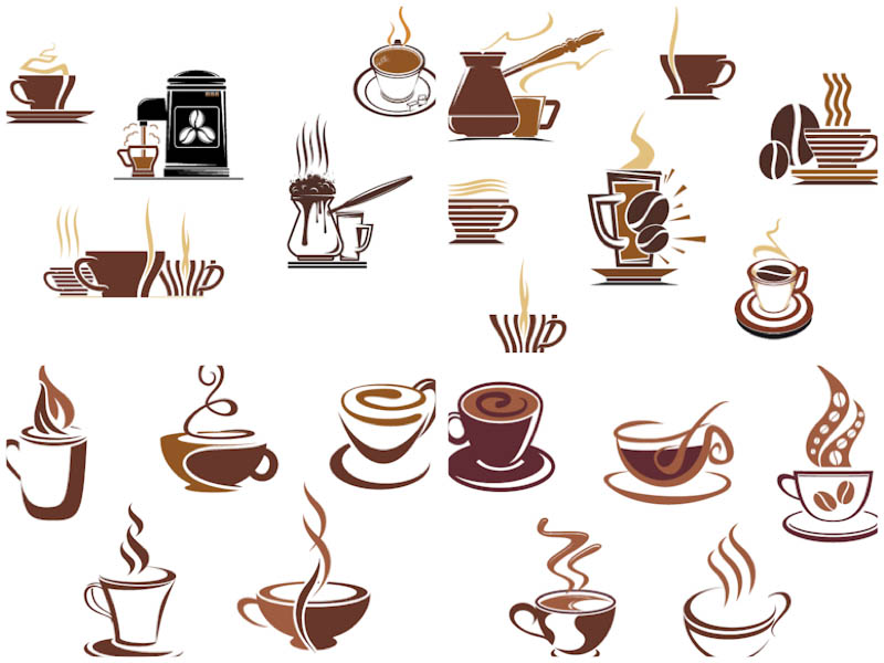 15 Coffee Logo Vector Images
