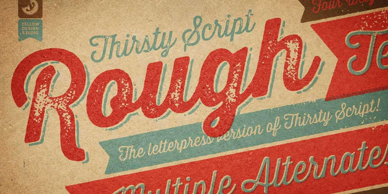 Vintage Script Font