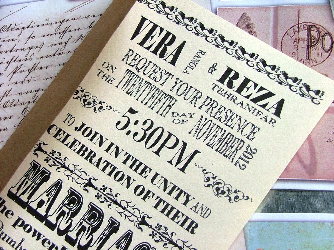 10 Vintage Wedding Fonts Images