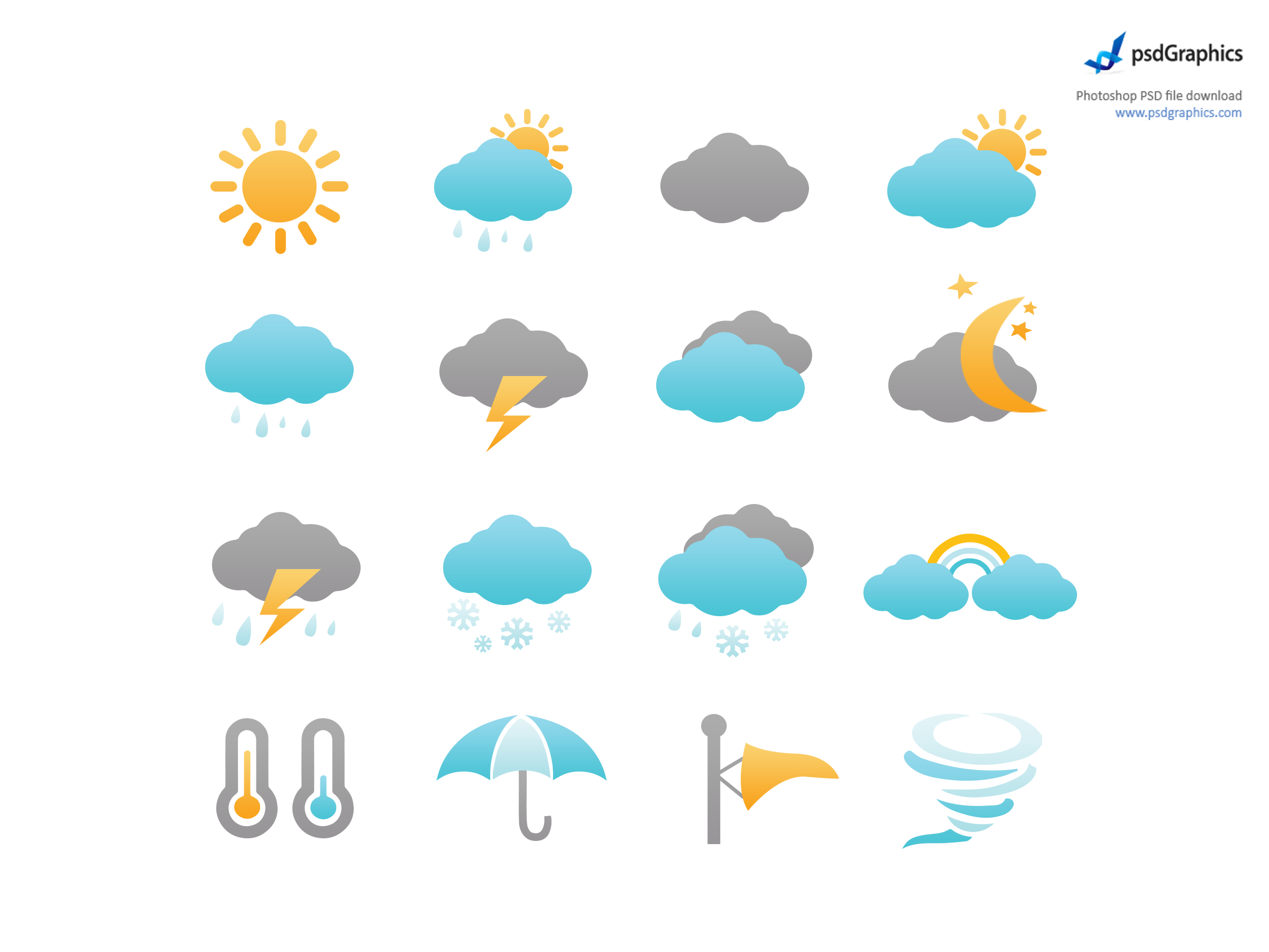11 Icon Weather Symbols Images Forecast Icon Weather