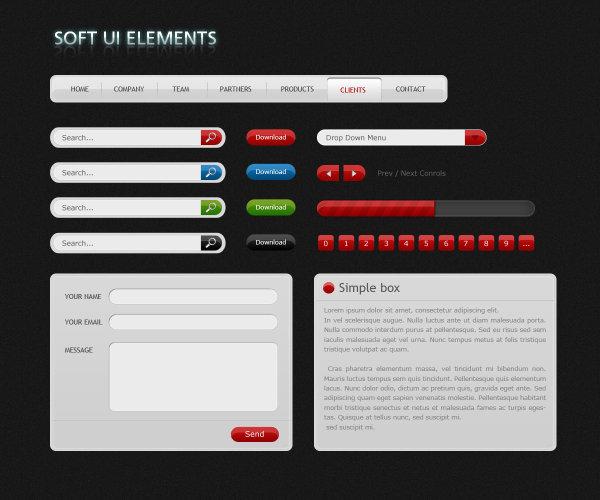 Web Page Design Elements