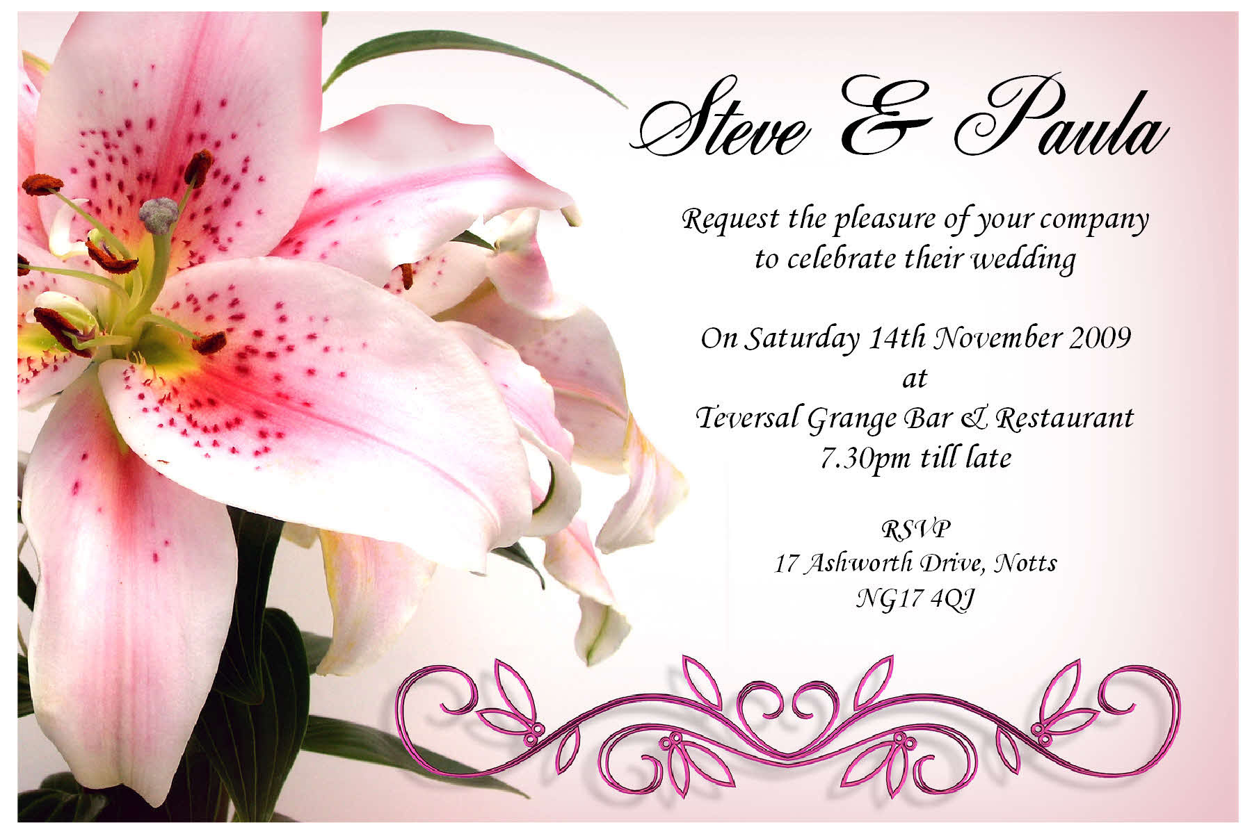 19 Wedding Invitation Cards Templates Designs Images