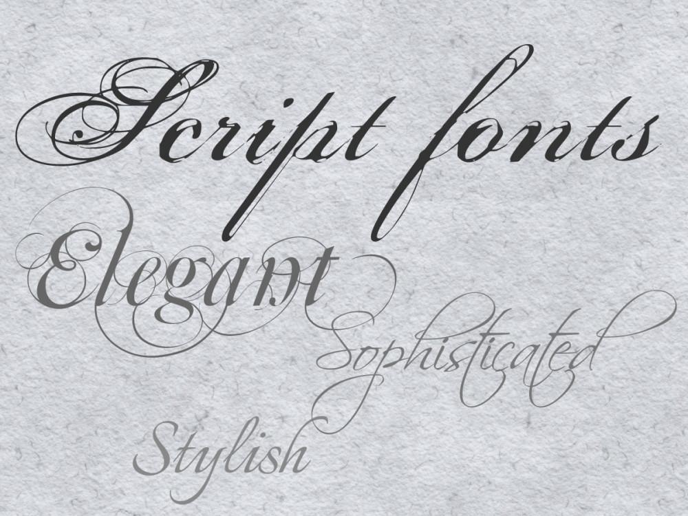 Wedding Invitation Script Font