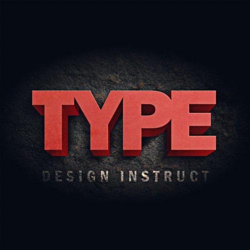 3D Text Effect Tutorials Photoshop