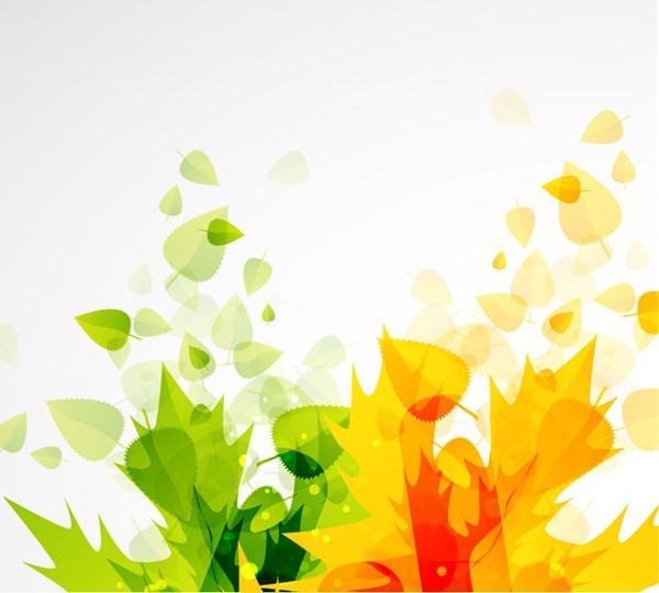 12 Autumn Flower Vector Background Images