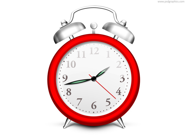 13 Time Clock PSDGraphics Images