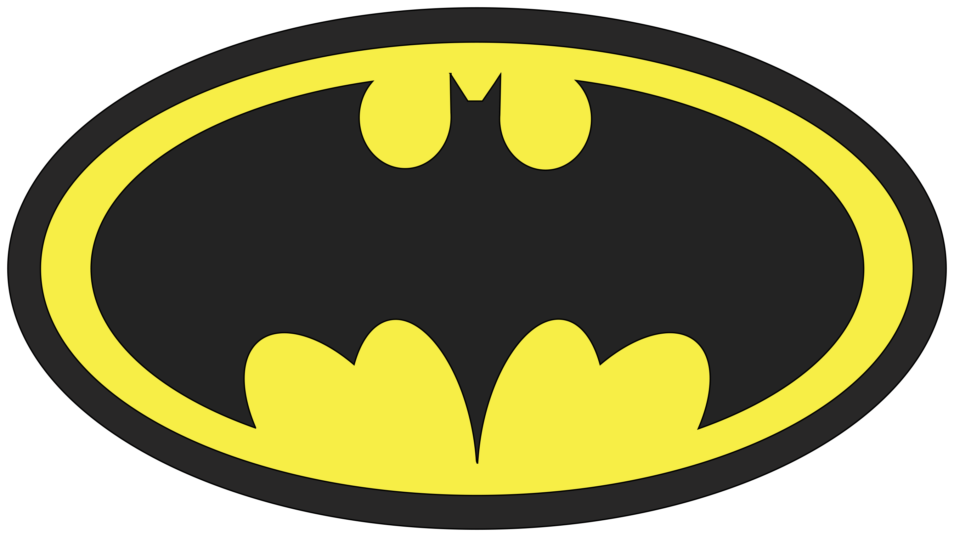 12 Batman Logo Vector Images