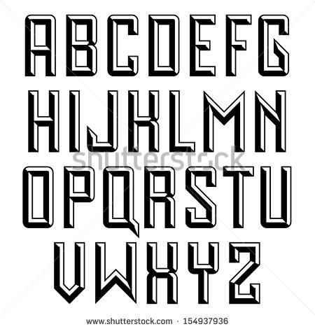 Beveled Serif Sans Font
