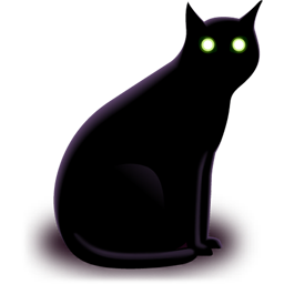 9 Halloween Black Cat Icons Images