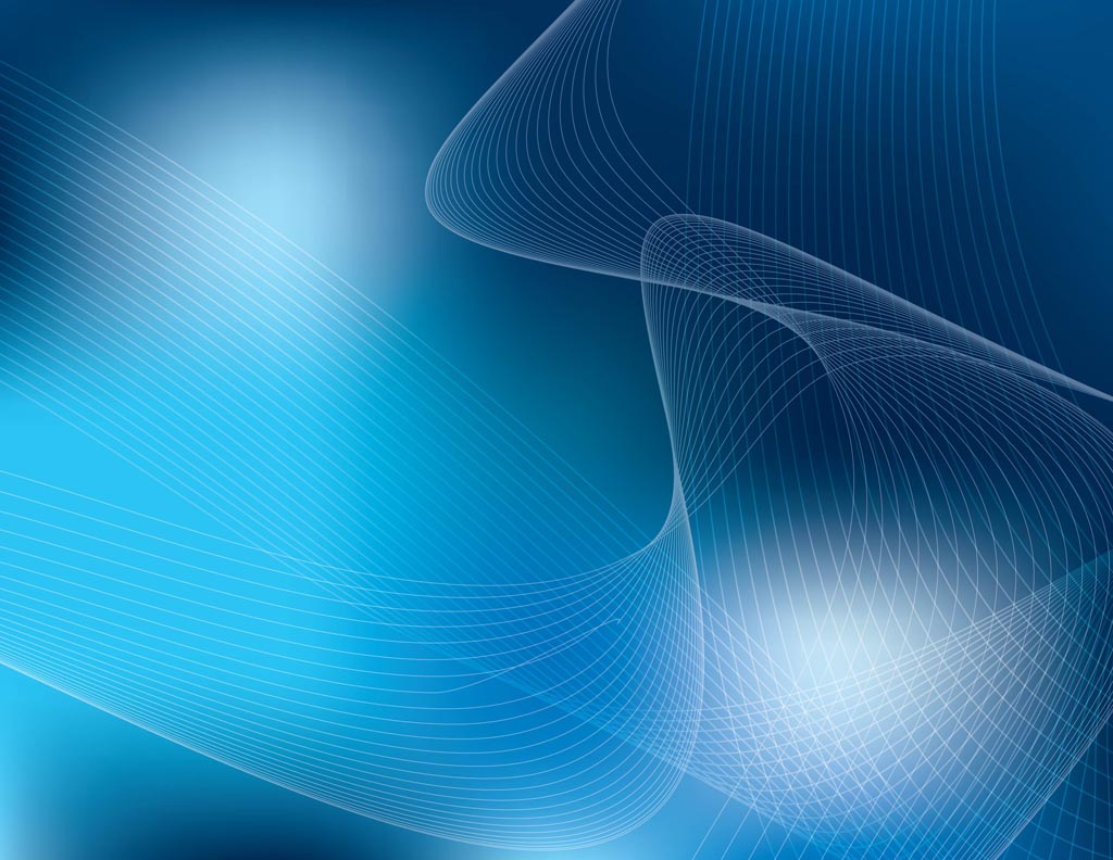Blue Abstract Vector