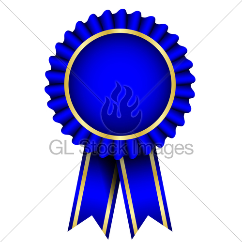 Blue Ribbon Award Clip Art Free