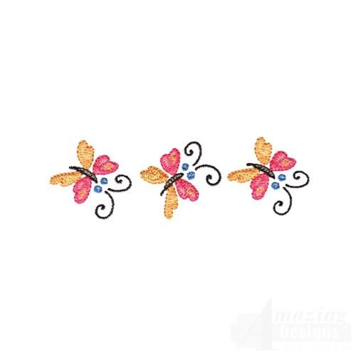 Butterflies Border Designs
