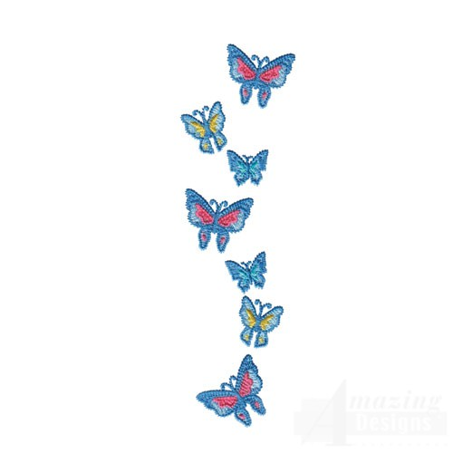 Butterfly Border Design