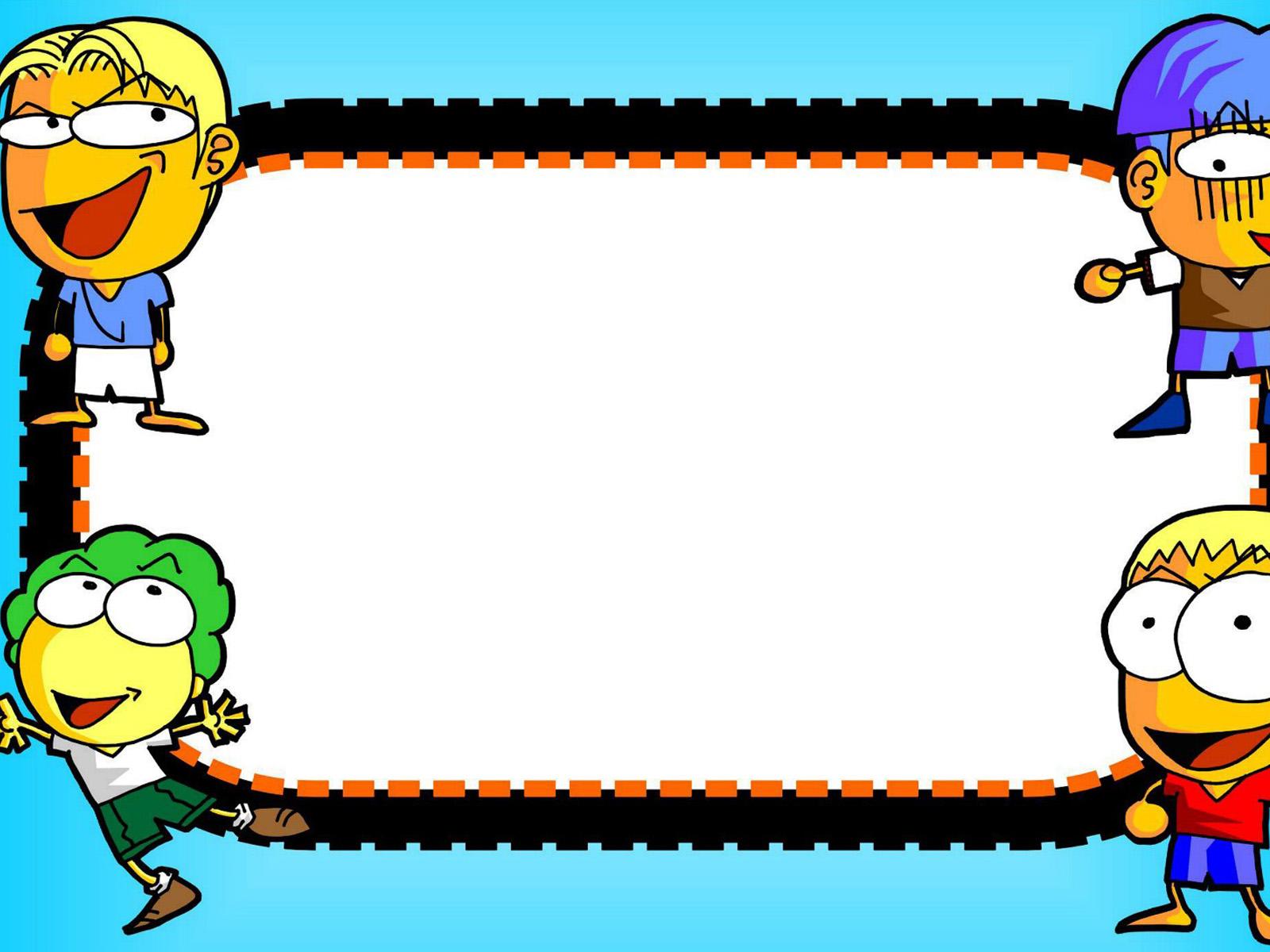 Cartoon Character Border
