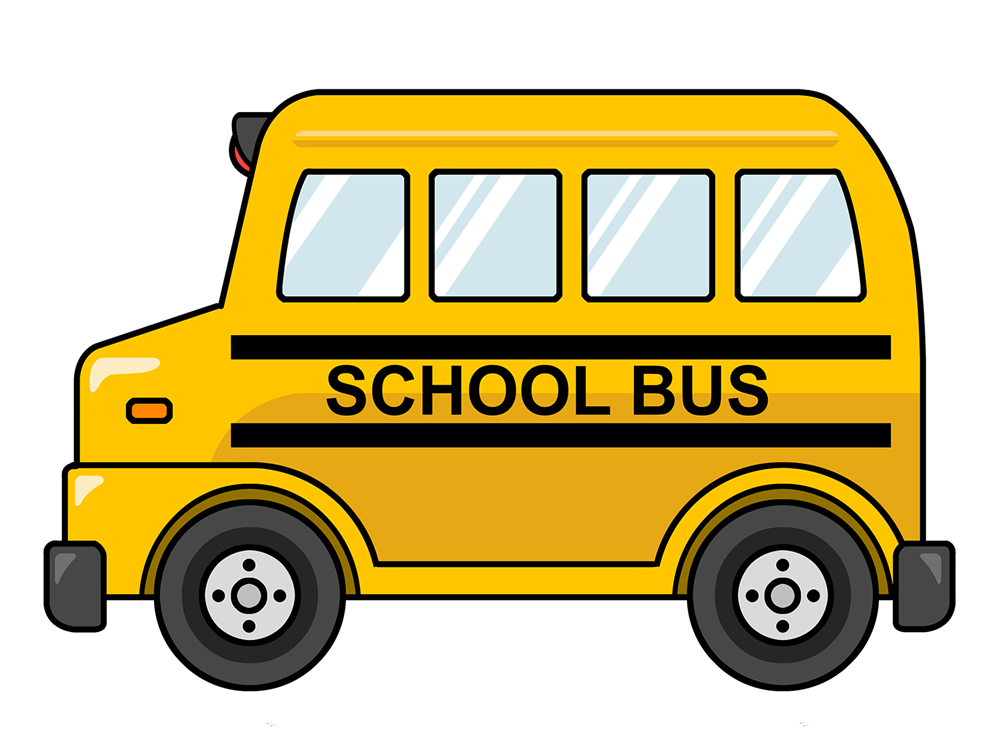 Cartoon School Bus Clip Art