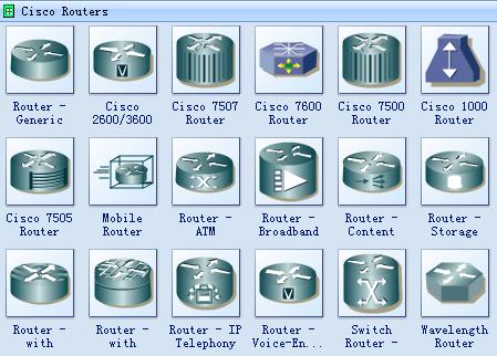 Cisco Network Icons Free