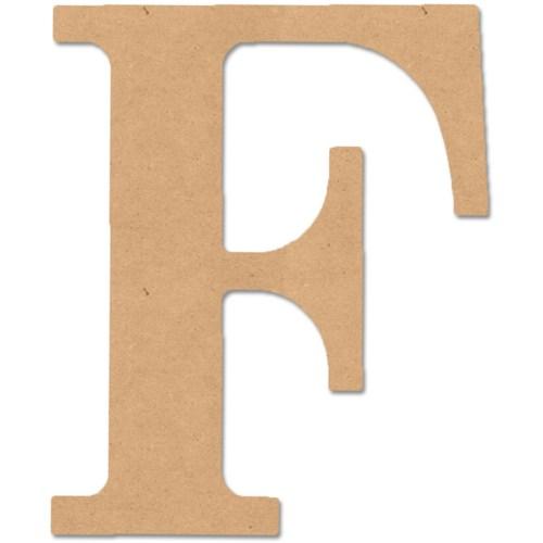 Classic Wood Font Letters