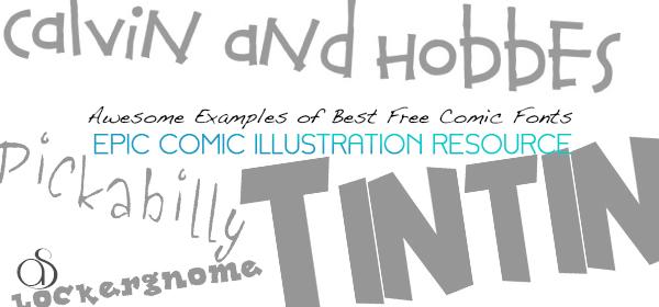 Comic Book Fonts Free