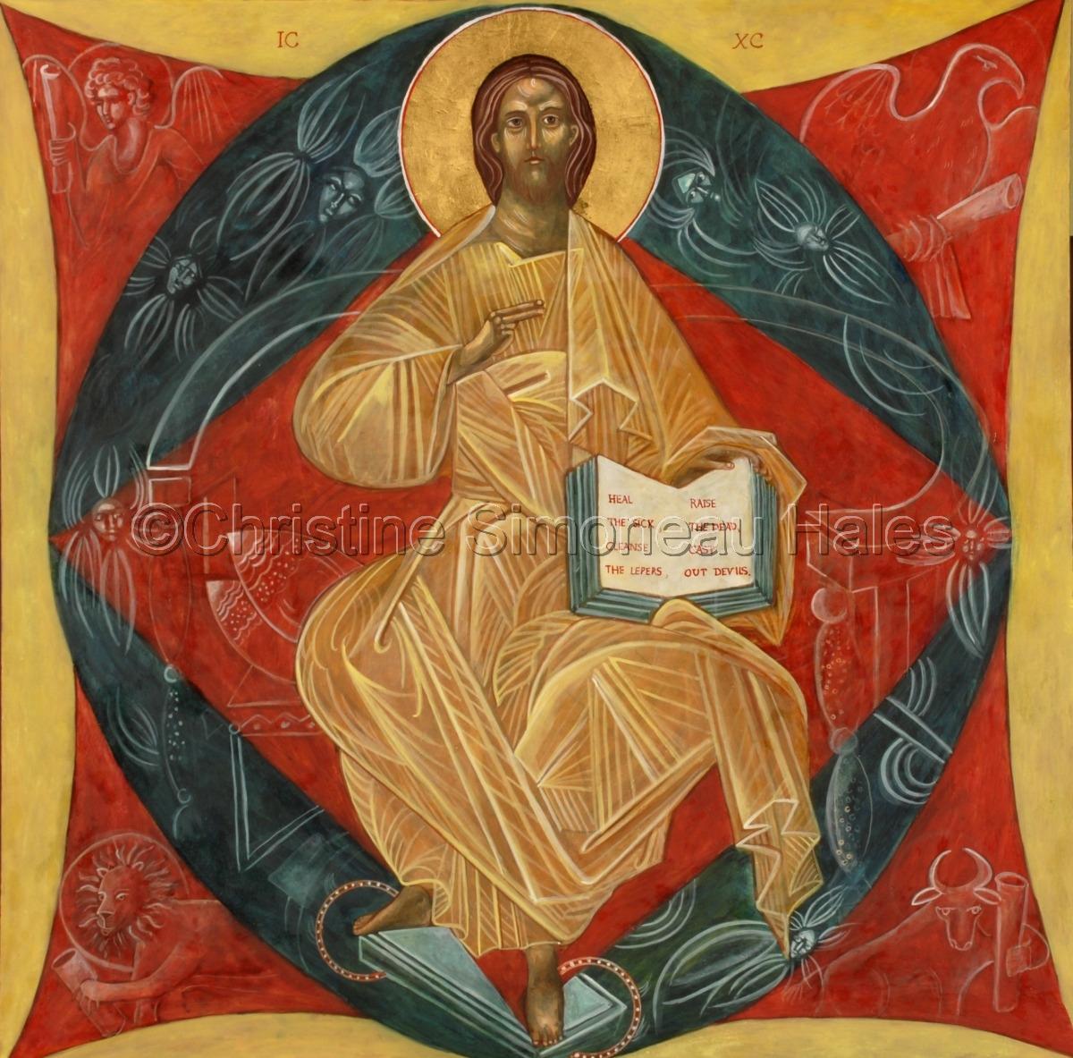 Contemporary Christian Art Jesus