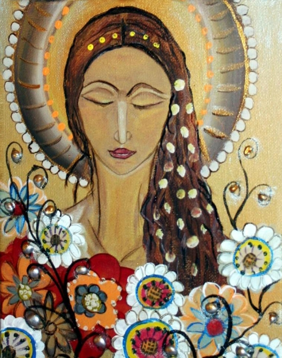 Contemporary Icon Painting Religious