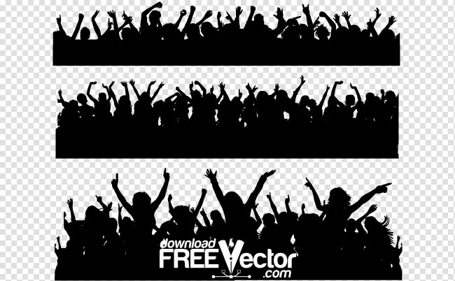 19 Vector Crowd Of People Images