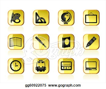 Education Clip Art Icon