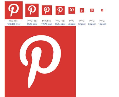 12 Pinterest Icon For Email Signature Images