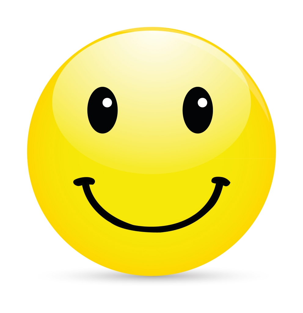 16 Happy Face Emoticons For Email Images