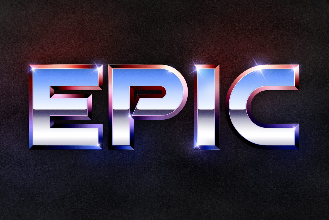 Epic Photoshop Text Effects
