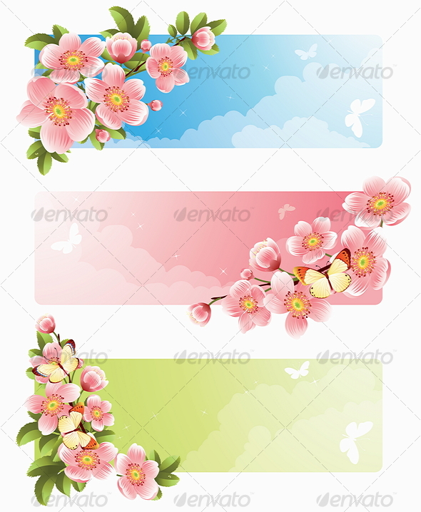 13 vector floral banner images free summer flowers clip art banner flower banner vector and. Black Bedroom Furniture Sets. Home Design Ideas