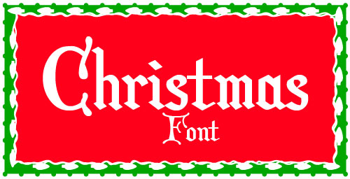 13 Best Font For Christmas Cards Images