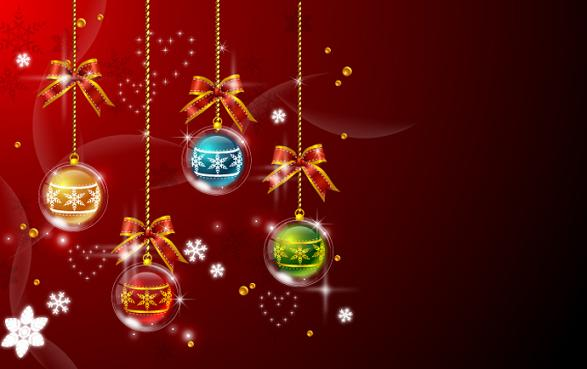 12 Christmas Background PSD Images