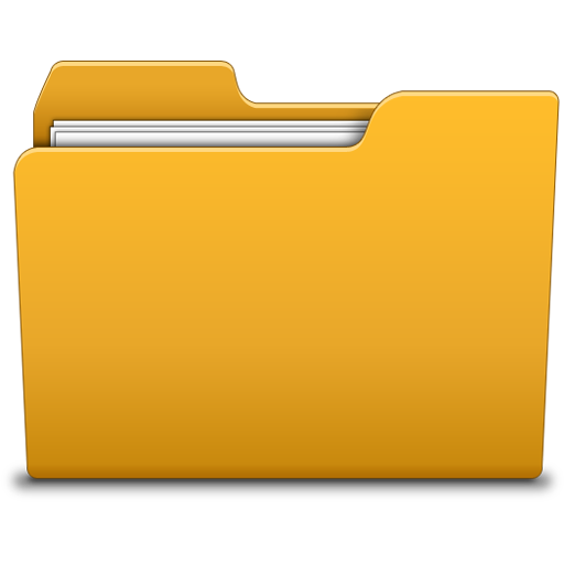 10 Transparent Folder Icon Images
