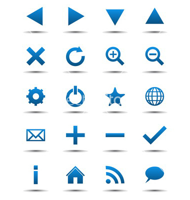 Free Website Navigation Icons
