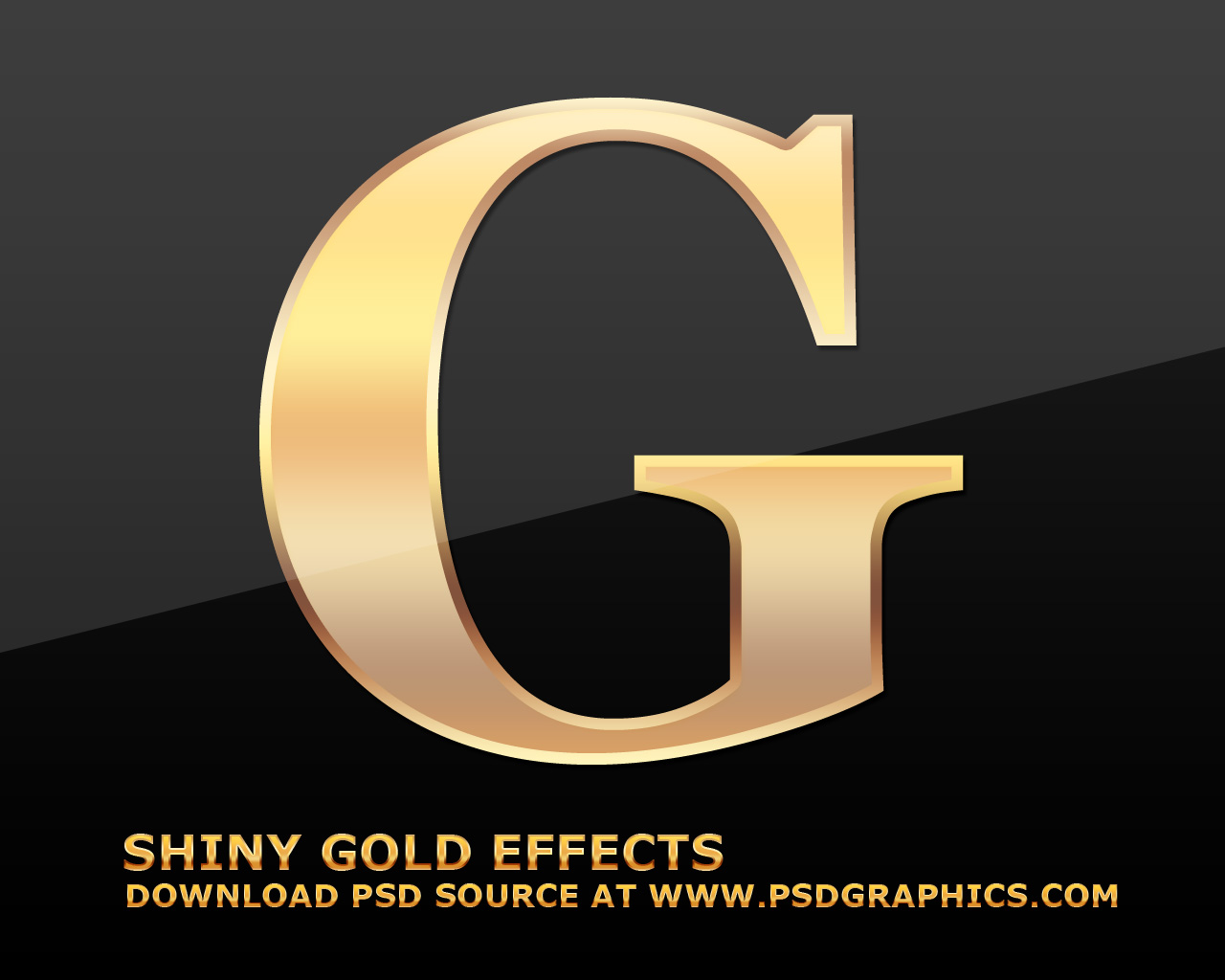 9 Gold Text Effect Photoshop Images