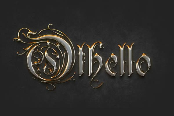 Gold Text Effect Photoshop Tutorial