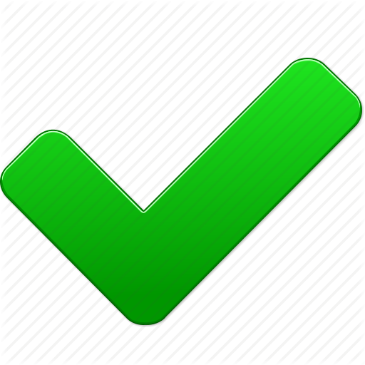 12 Green Icon Yes Images - Green Check, Microsoft Green ...
