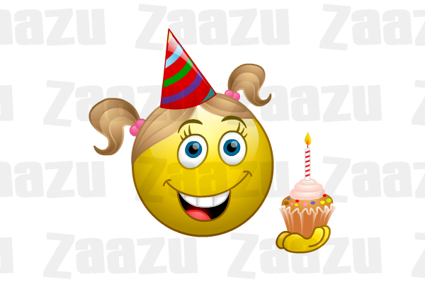 Happy Birthday Smileys Emoticons