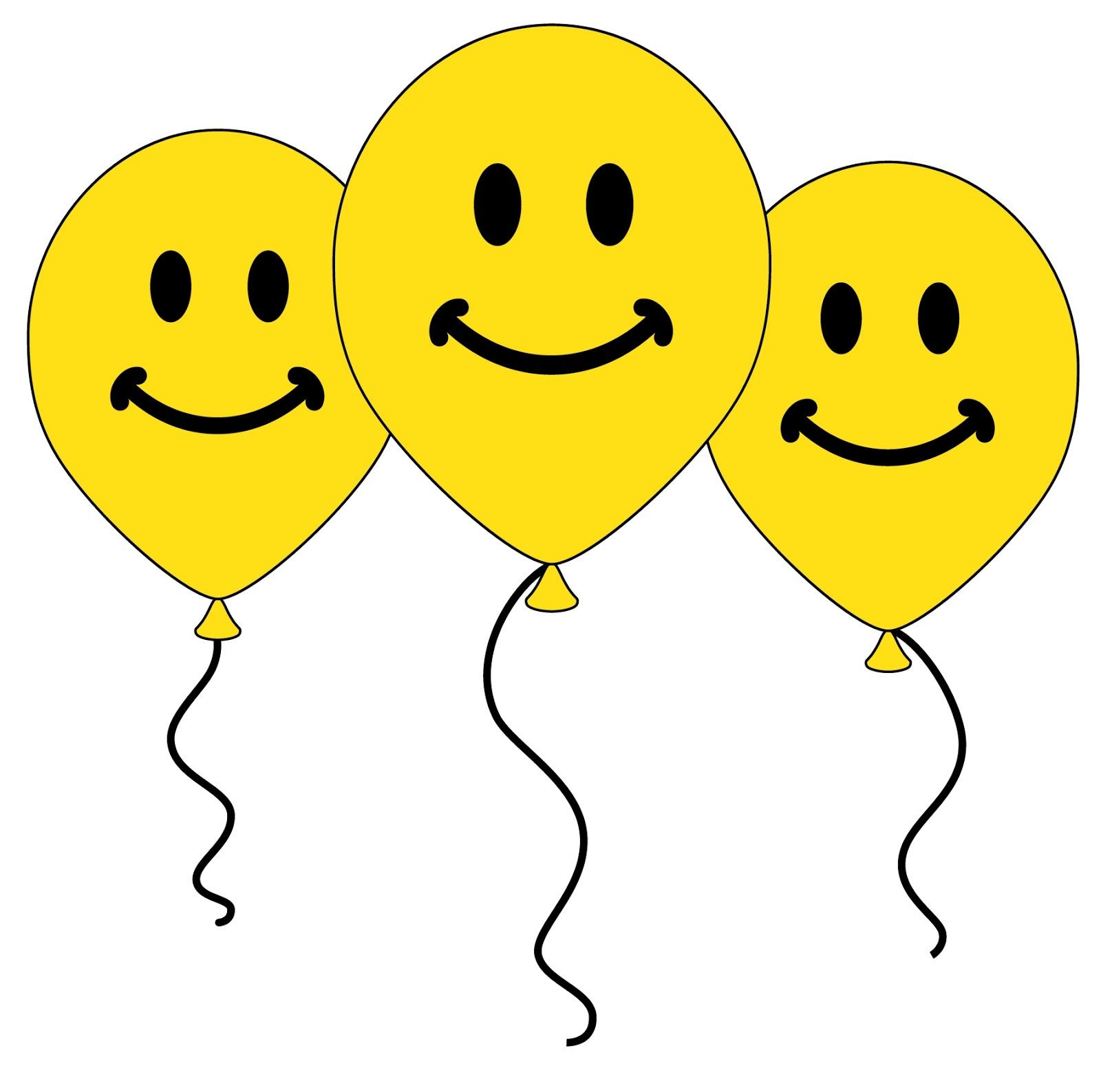 Happy Smiley Face Balloon