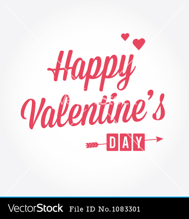 17 Happy Valentine's Day Vector Images