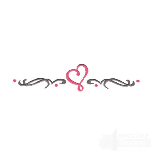 Heart Border Designs