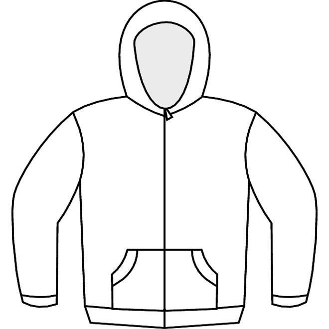 Hoodie Sweatshirt Template