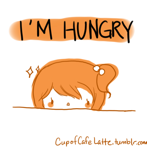 I'm Hungry Cartoon