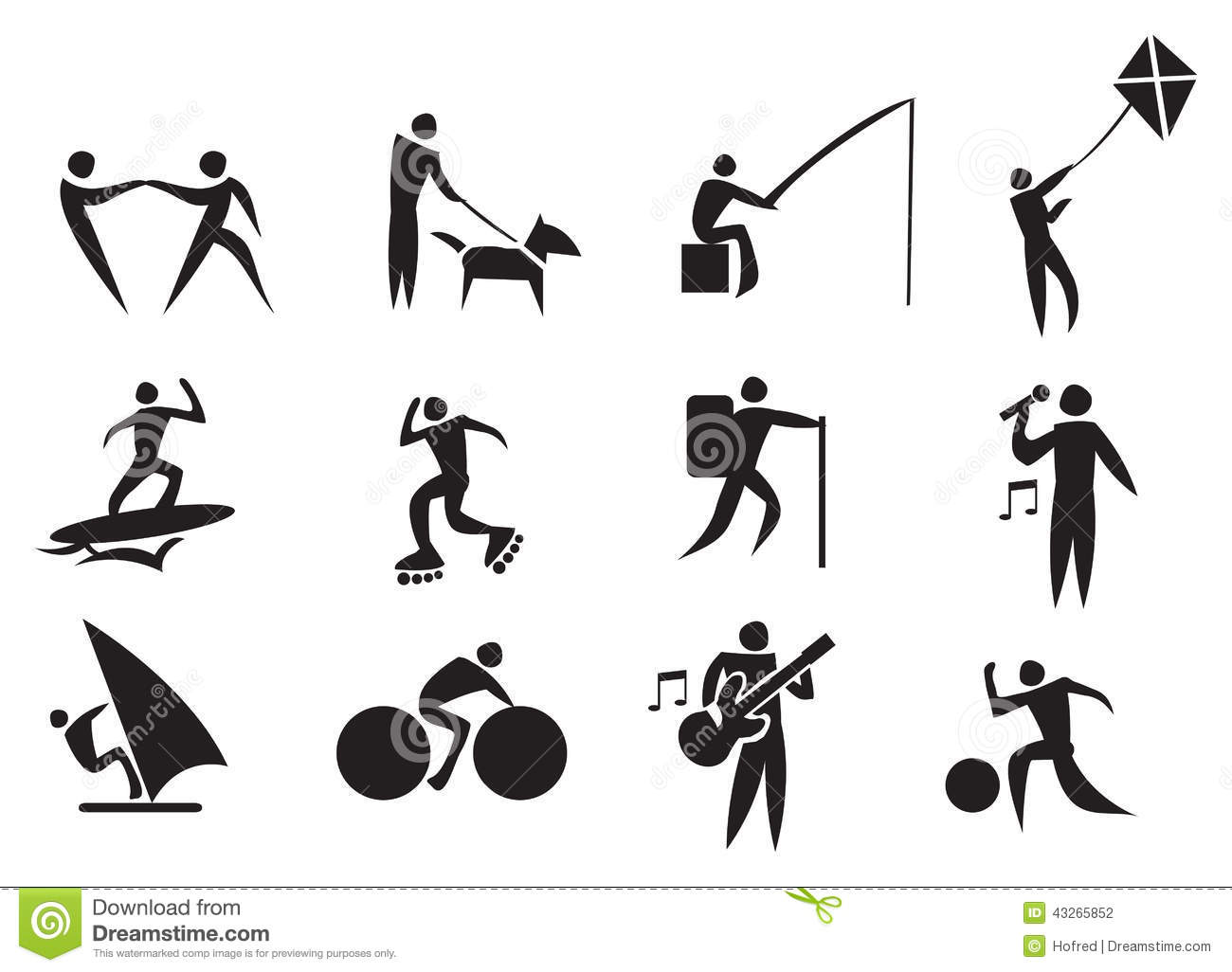 Image of Person Doing Leisure Activity